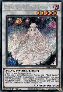 Yu-Gi-Oh GARDEN ROSE MAIDEN