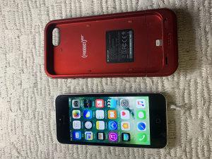 iPhone 5   32 GB i externa bat/cover
