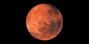 """Igra """"Ima li vode na Marsu?"""""""