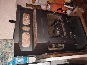 Peć za loženje ili kamin na centralno grijanje