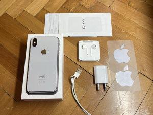 APPLE IPHONE X 64GB 100% BATERIJA 9/10 STANJE SIMFREE