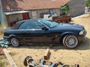 BMW E46 325i CABRIO UDAREN!!!