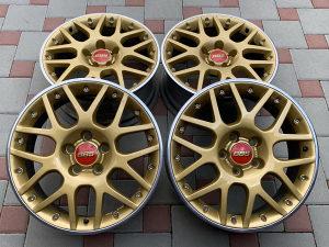 """FELGE 17"""" BBS RS800 GOLD MADRAS DVODJELNE W8 (VW/AUDI)"""