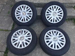 Zimske gume 195 65 15 Bridgestone 20dot 5.5 mm sara