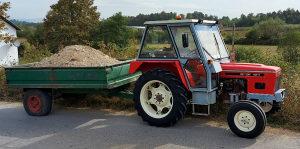 Zetor traktor 4911 Registrovan,Servo,Aut Kuka,Pufer