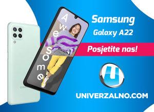 Samsung Galaxy A22 128GB (6GB RAM) – 4G (LTE)