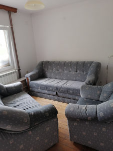 Trosjed dvosjed i fotelja