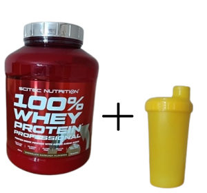 Scitec Nutrition 100% Whey Professional 2350gr+shaker