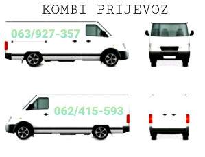 KOMBI PRIJEVOZ(ODVOZ OTPADA,SELIDBE 063927357