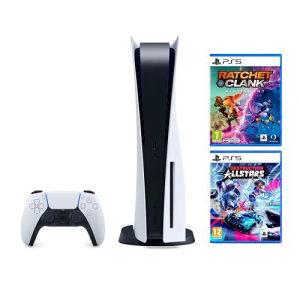 Sony PlayStation 5 + 2 igrice