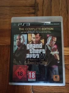 PS3 igre GTA 4 Complete Edition original