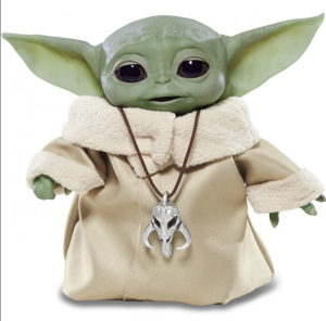 Interaktivna i animatronska figura Baby Yoda Star Wars