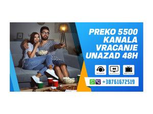 🥇IPTV TV KANALI 5500+/ VRACANJE UNAZAD 48H🥇