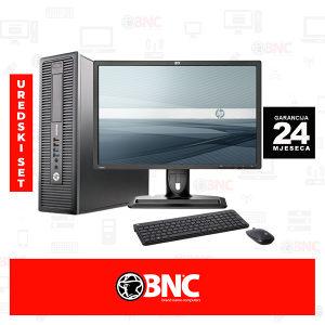 "Uredski set HP 800 G2 Desktop SFF i5+HP ZR24w 24"""