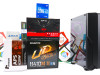 Gaming PC Iron 31; i3-10100F; RX 550; 120GB SSD; DDR4