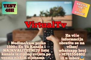 IPTV SMART TV-ANDROID INTERNET TELEVIZIJA 8000