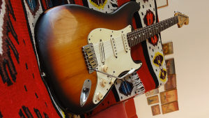 Fender Strat MADE IN USA 2007 Hot Rail
