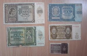 Novčanice HRVATSKA --NDH