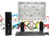 SET HP 8300 + Acer 22'' i5-3470 120GB SSD 8GB RAM