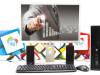 SET HP 8300 + Acer 22'' i5-3470 240GB SSD 8GB RAM