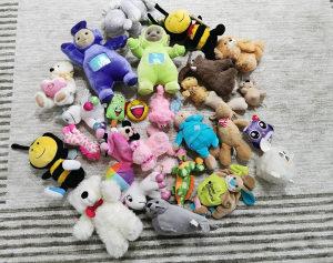Plisane igracke 25komada igračka plišana za djecu