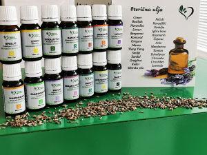 ETERIČNA ULJA - 65+ različitih eteričnih ulja