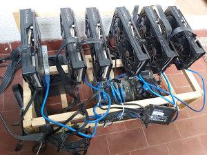 Mining rig 6x RX 5600 XT