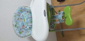 Hranilica za bebe Graco + Nosiljka za bebe + Podmetač z
