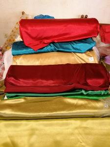 Tekstil metraža krep saten svila