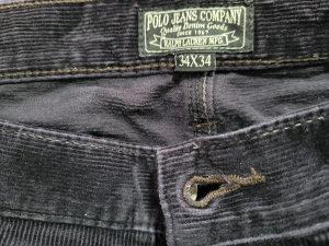 Samtane pantalone