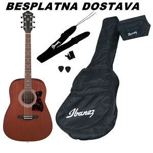 Gitara Akusticna IBANEZ V54NJP-OPN SET