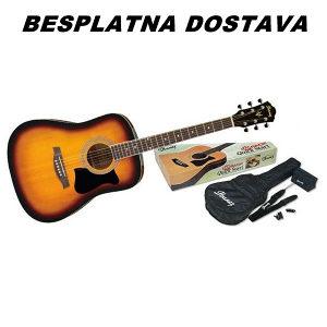 Gitara Akusticna IBANEZ V50NJP-VS SET