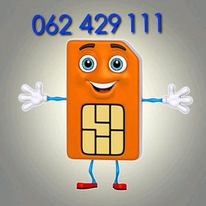 Ultra broj - brojevi 062 429 111