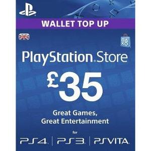 PSN Card 35 funti GBP UK - DIGITALNI KOD