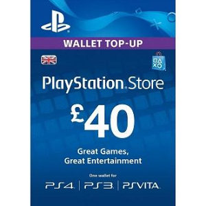 PSN Card 40 funti GBP UK - DIGITALNI KOD