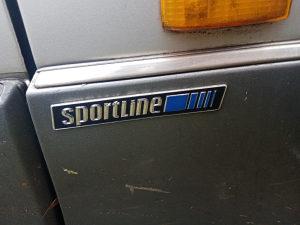Amblem lajsna sportline