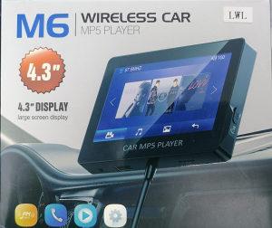 Car FM Transmitter MP5 HD Video Player (Audio + Video)