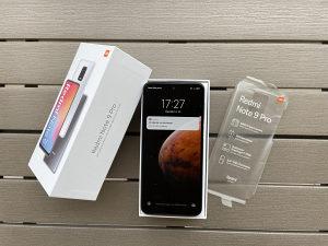 Xiaomi Redmi note 9 Pro   White   64GB   Sim free  