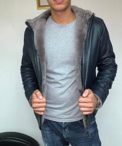 ARMANI- kozna jakna