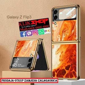 GALAXY FLIP 3 Zaštita/Maska/Oklop/Silikonska/Gel/FLIP3