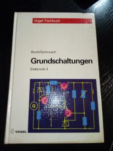 Knjige njemački, GRUNDSCHALTUNGEN , Elektronik 3