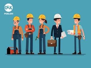 Posao - gradjevinski radnici