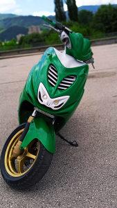 Yamaha Aerox 50 Green Edition