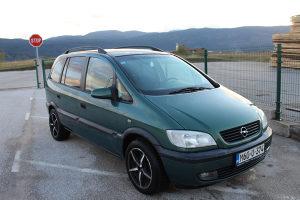 Opel Zafira A 1.8 16V 92kw Plin-Atest