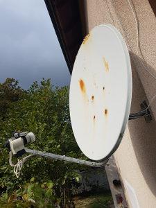 Sateliska antena 110cm i 4 LNB-a