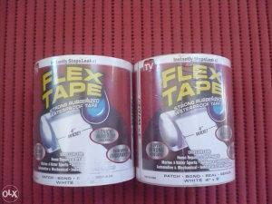 Flex tape samoljepljiva traka white 152x10