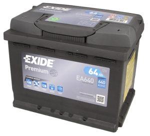 Akumulator Exide 64Ah/640A 12V