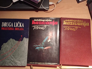 Knjige - autobiografija Tito I, II tom, 2. licka brigad