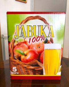 100% Prirodni sok od jabuke