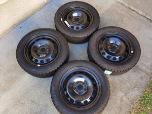 Čelične felge 16 5x112 gume 205 55 16 zimske Bridgeston